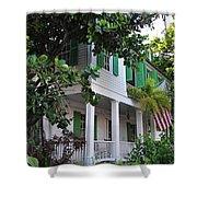 The Audubon House - Key West Florida Shower Curtain