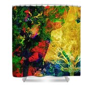 The Autum Hour Shower Curtain