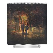 The Autumn Of Our Life Shower Curtain