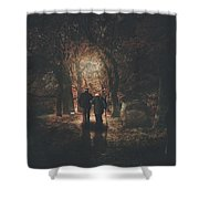 The Autumn Of Our Years Shower Curtain