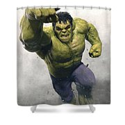 The Avengers Age Of Ultron 2015 21 Shower Curtain