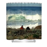 The Awesome Pacific In All Her Glory Shower Curtain