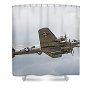 The B-17 Bomber Shower Curtain