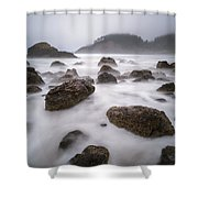 The Balanced Nature Shower Curtain