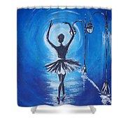 The Ballerina Dance Shower Curtain