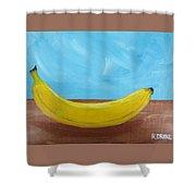 The Banana Shower Curtain