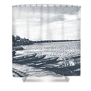 The Bank Of Ganges Shower Curtain