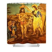 The Baptism  Shower Curtain