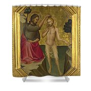 The Baptism Of Christ Shower Curtain
