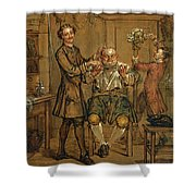 The Barber Shower Curtain