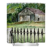 The Barn At Parsonsfield Maine Shower Curtain