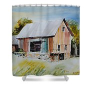 The Barn Entrance  Shower Curtain