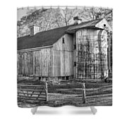 The Barnyard Shower Curtain