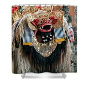The Barong Shower Curtain