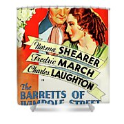 The Barretts Of Wimpole Street Shower Curtain