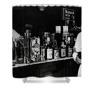 The Bartender Is Back - Prohibition Ends Dec 1933 Shower Curtain