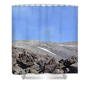 The Base Of Mt St Helens  Shower Curtain