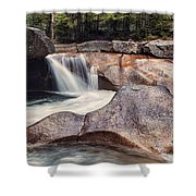 The Basin Pano Shower Curtain