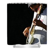The Bassman Shower Curtain