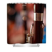 The Bassoon Section Shower Curtain