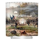 The Battle Of Antietam Shower Curtain