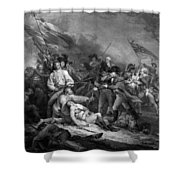 The Battle Of Bunker Hill Shower Curtain