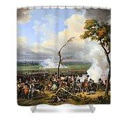 The Battle Of Hanau Shower Curtain