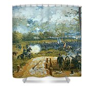 The Battle Of Kenesaw Mountain Shower Curtain by American School