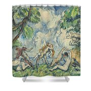 The Battle Of Love Shower Curtain
