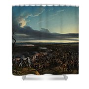 The Battle Of Montmirail Shower Curtain