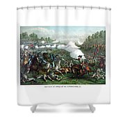 The Battle Of Winchester Shower Curtain