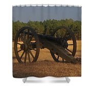 The Battlefield Shower Curtain
