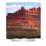 The Battleship Utah Shower Curtain