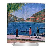The Bay Of Balaklava Shower Curtain