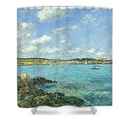 The Bay Of Douarnenez Shower Curtain