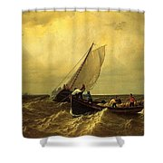 The Bay Of Fundy Shower Curtain