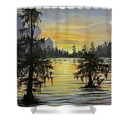 The Bayou Shower Curtain