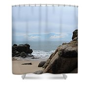 The Beach 2 Shower Curtain