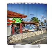 The Beach - Arashi Beach - Aruba - West Indies Shower Curtain