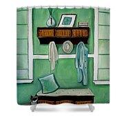 The Beach House Shower Curtain