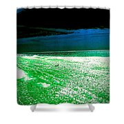 The Beach In Colors  Shower Curtain