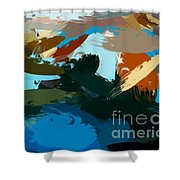 The Dock At Boulevard Shower Curtain