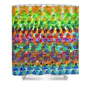 The Beach Party Shower Curtain