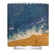 The Beach - Tac Shower Curtain