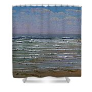 The Beachcomber Shower Curtain
