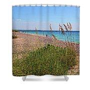 The Beaches Of Boca Grande Shower Curtain