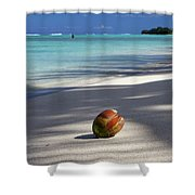 The Beaches Of Rarotonga Shower Curtain