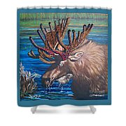 Big Bad Bead  Dealer    Flying Lamb Productions  Shower Curtain