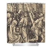 The Bearing Of The Cross With Saint Veronica Shower Curtain
