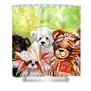 The Bears From The Yorkshire Moor 02 Shower Curtain